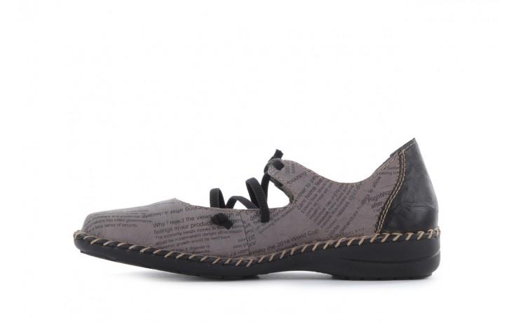 Rieker 49850-40 grey combi 2