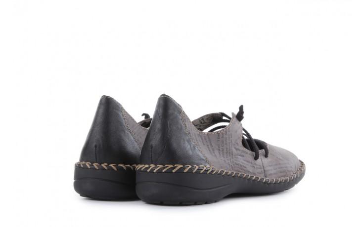 Rieker 49850-40 grey combi 3