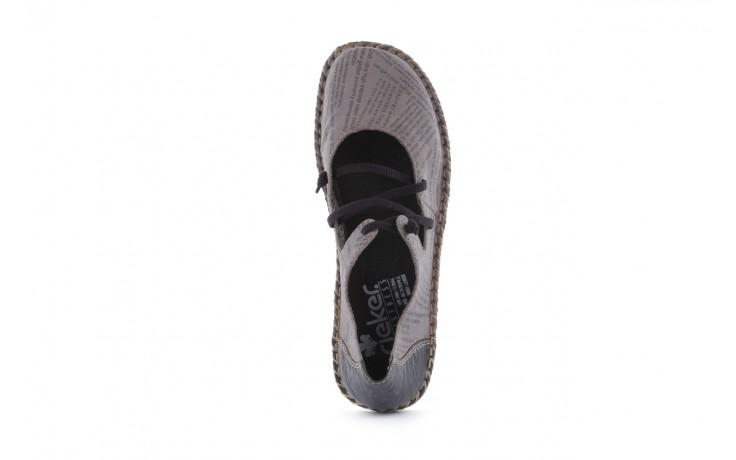 Rieker 49850-40 grey combi 4