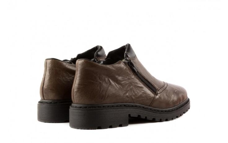 Rieker 56382-25 brown combination 3