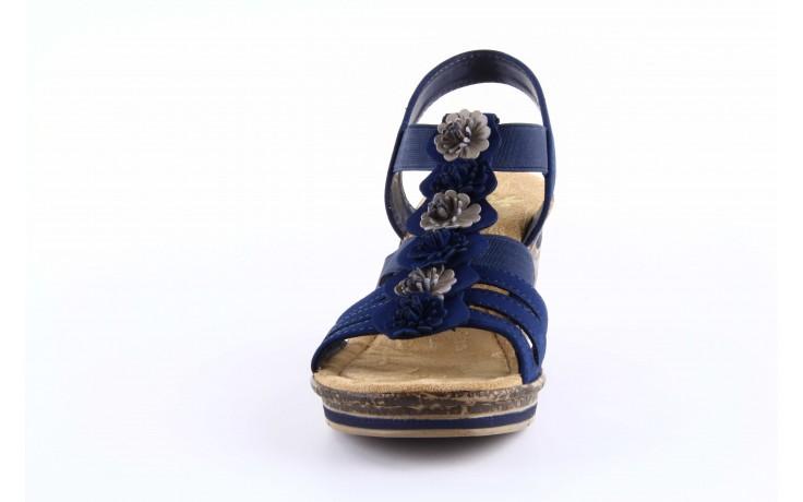 Rieker 60610-14 blue combination 1