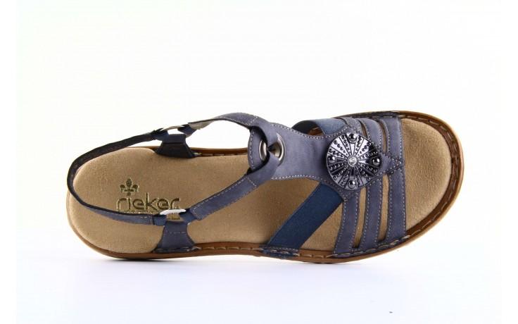 Rieker 60869-14 blue 4