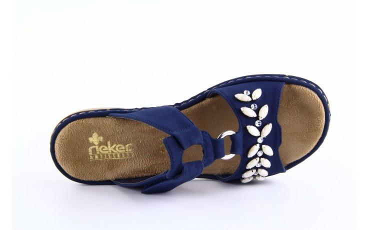 Rieker 65981-14 blue 5