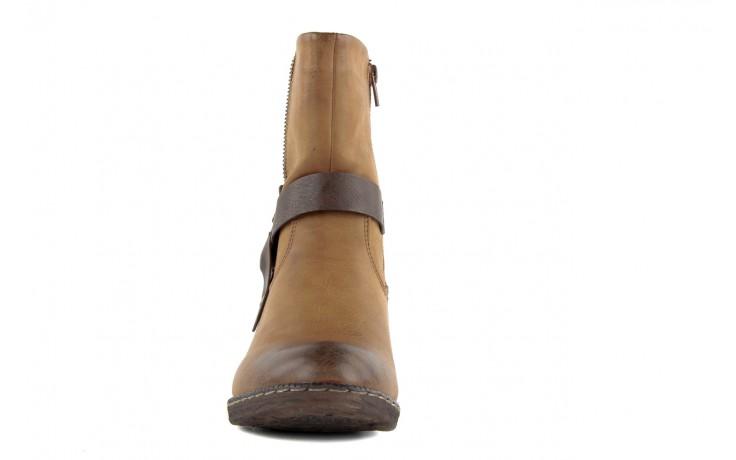 Trzewiki rieker 93883-24 brown, brąz, skóra ekologiczna - nasze marki 5