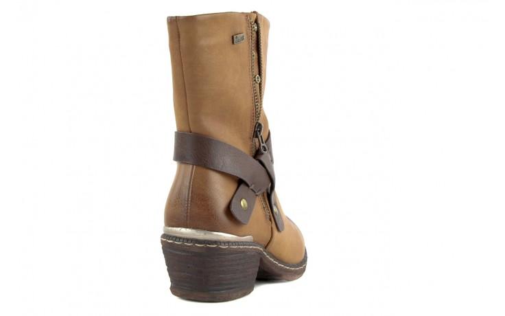 Trzewiki rieker 93883-24 brown, brąz, skóra ekologiczna - nasze marki 3