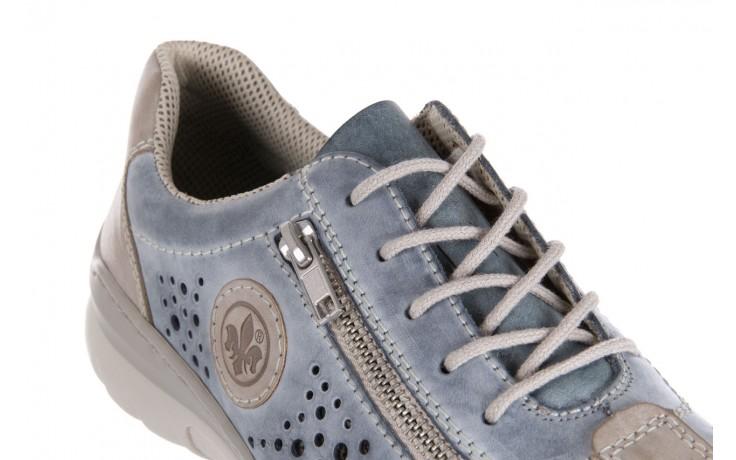 Rieker l3215-42 blue combination - nasze marki 5