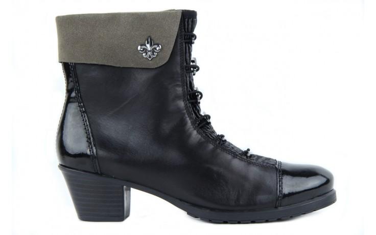 Rieker y0093-01 black combi 5