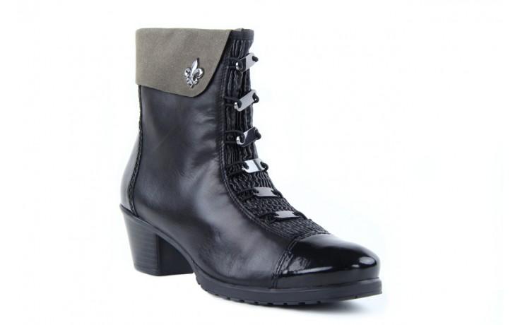 Rieker y0093-01 black combi 3