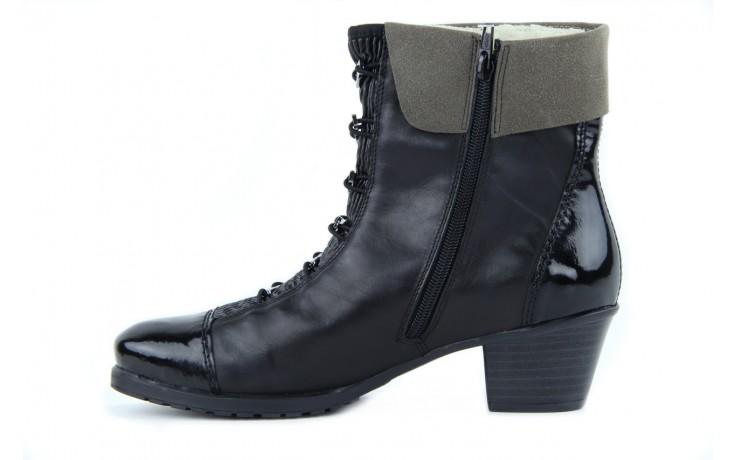 Rieker y0093-01 black combi 2