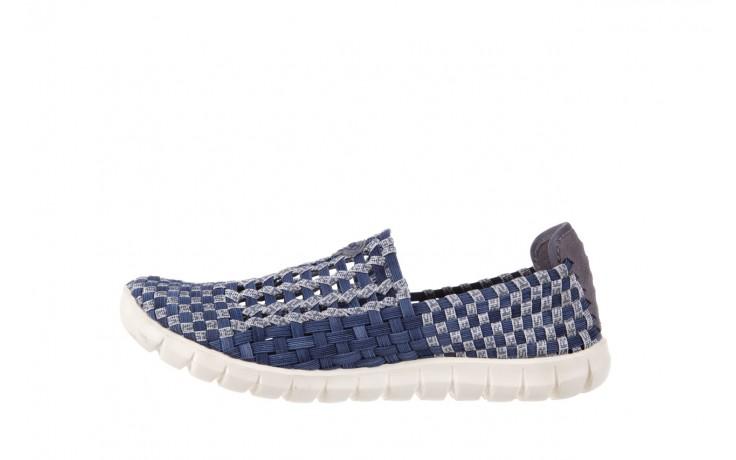 Półbuty rock arbatax washed navy, niebieski, materiał - rock - nasze marki 2