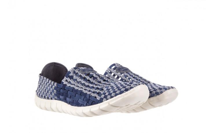 Półbuty rock arbatax washed navy, niebieski, materiał - rock - nasze marki 1