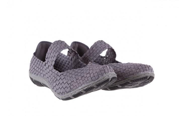 Półbuty rock cape town grey ratan, szary, materiał - obuwie sportowe - buty damskie - kobieta 1