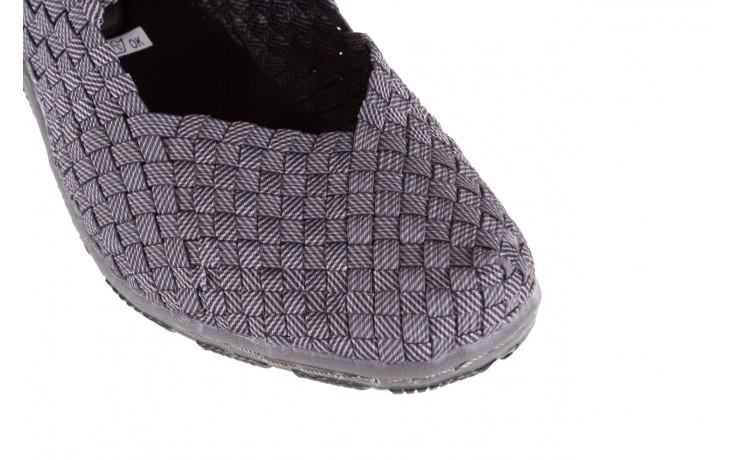 Półbuty rock cape town grey ratan, szary, materiał - obuwie sportowe - buty damskie - kobieta 5