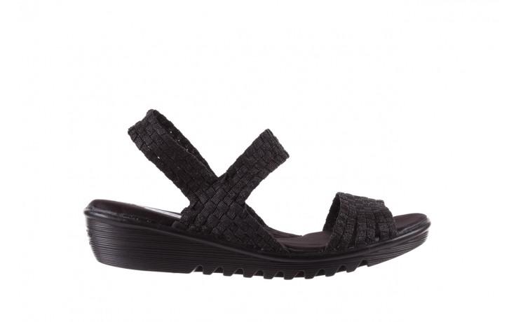 Sandały rock coaster met black, czarny, materiał  - rock - nasze marki