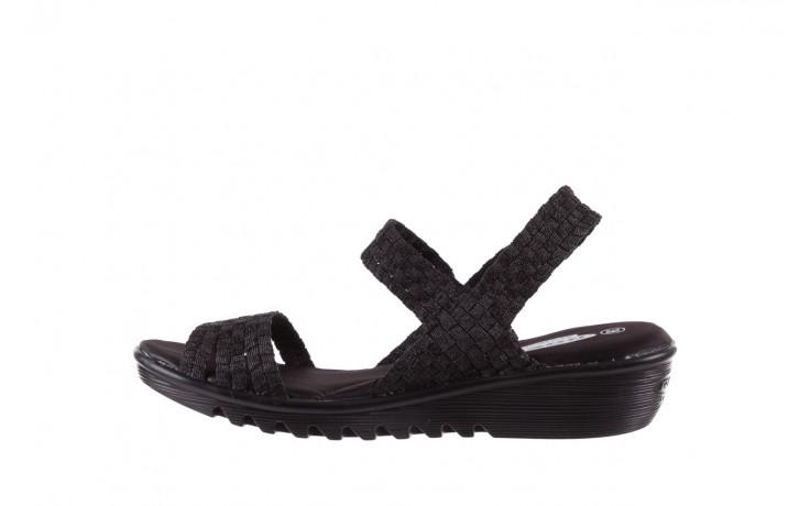 Sandały rock coaster met black, czarny, materiał  - rock - nasze marki 2