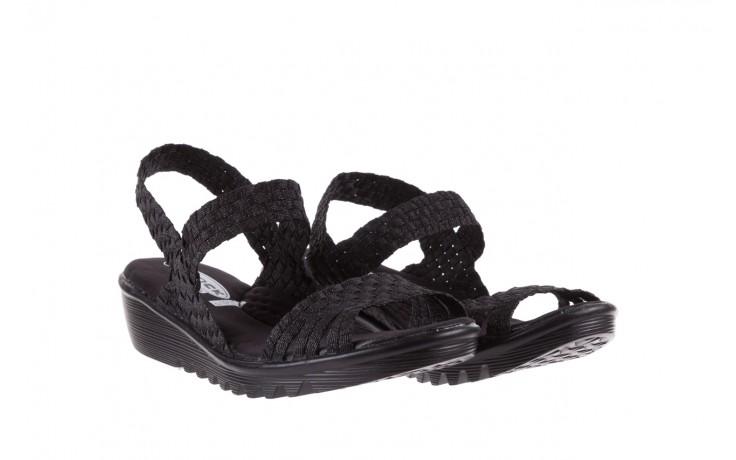Sandały rock coaster met black, czarny, materiał  - rock - nasze marki 1