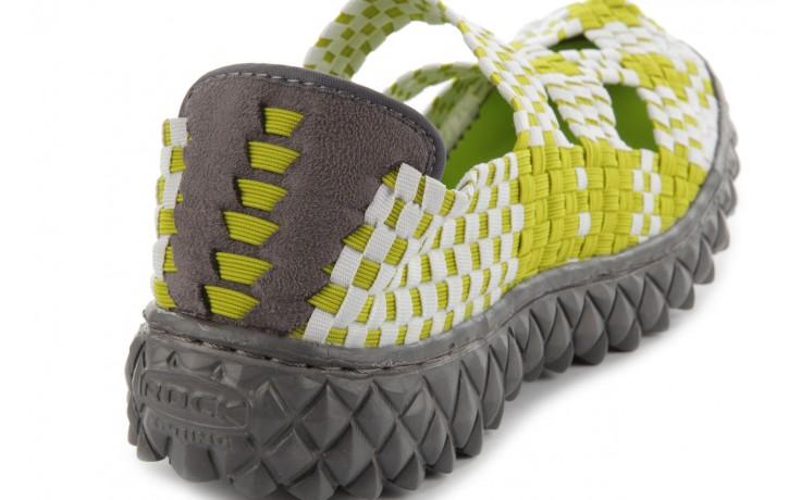 Sandały rock cross green-white, zielony, materiał  - rock - nasze marki 7