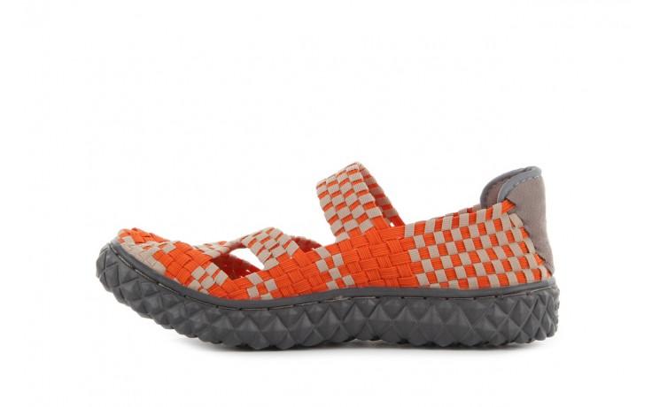 Sandały rock cross orange-beige, pomarańczowy, materiał - rock - nasze marki 2