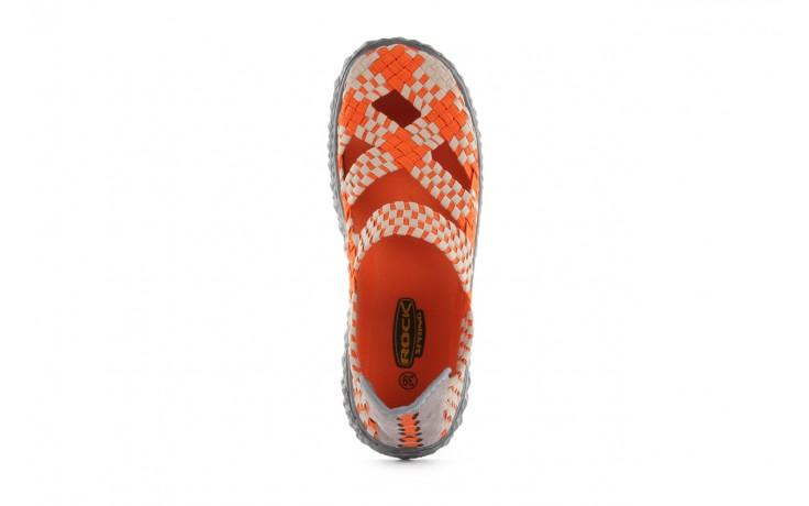 Sandały rock cross orange-beige, pomarańczowy, materiał - rock - nasze marki 4