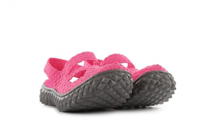 Sandały rock cross sandal fuchsia. róż, materiał - rock - nasze marki 1