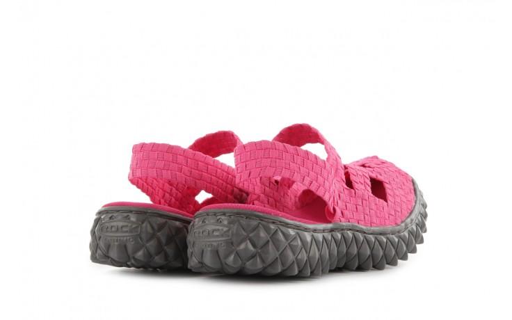 Sandały rock cross sandal fuchsia. róż, materiał - rock - nasze marki 3