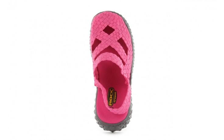 Sandały rock cross sandal fuchsia. róż, materiał - rock - nasze marki 4