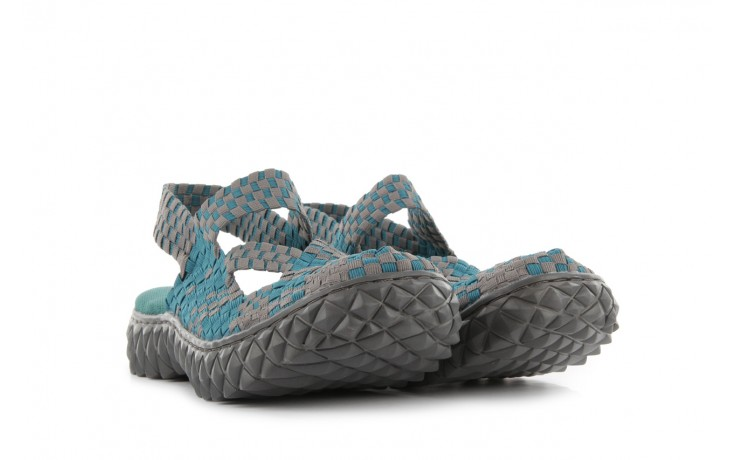 Sandały rock cross sandal petrol grey, niebieski, materiał - rock - nasze marki 1