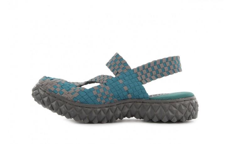 Sandały rock cross sandal petrol grey, niebieski, materiał - rock - nasze marki 2