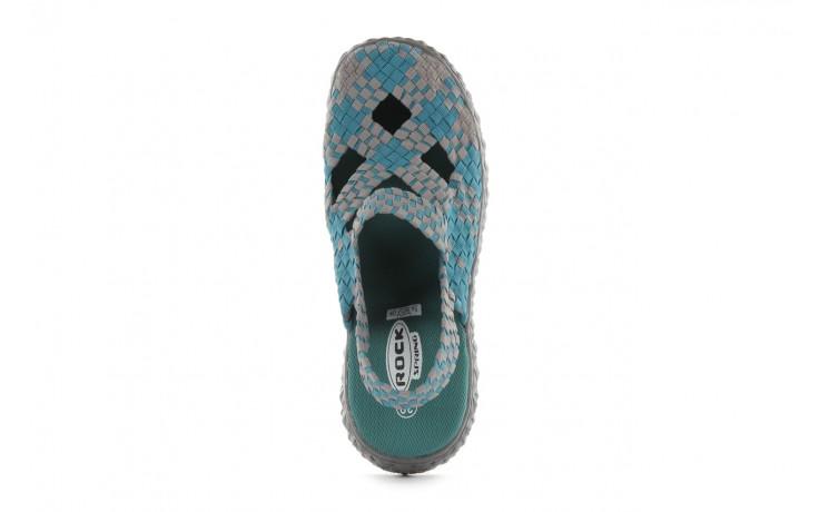 Sandały rock cross sandal petrol grey, niebieski, materiał - rock - nasze marki 4