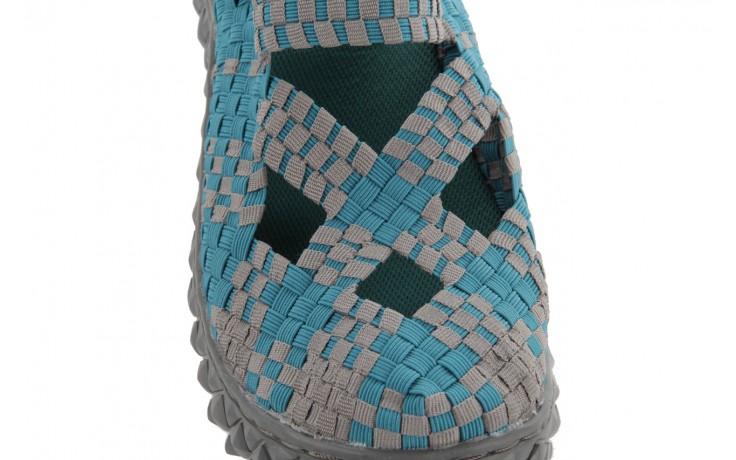 Sandały rock cross sandal petrol grey, niebieski, materiał - rock - nasze marki 5