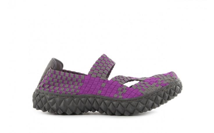 Sandały rock cross violet-grey, fiolet/ szary, materiał - rock - nasze marki