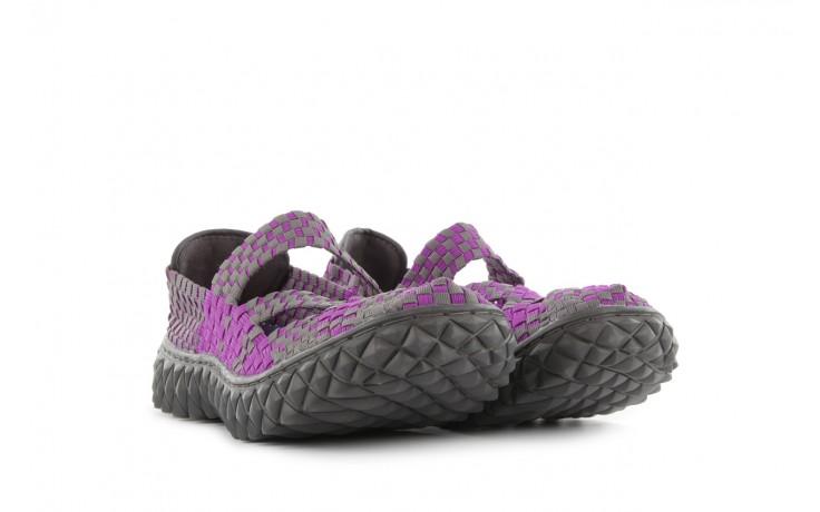 Sandały rock cross violet-grey, fiolet/ szary, materiał - rock - nasze marki 1