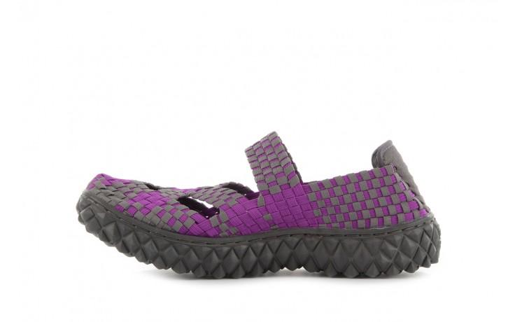 Sandały rock cross violet-grey, fiolet/ szary, materiał - rock - nasze marki 2