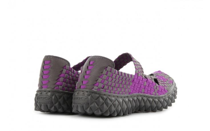 Sandały rock cross violet-grey, fiolet/ szary, materiał - rock - nasze marki 3