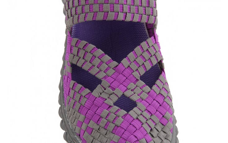 Sandały rock cross violet-grey, fiolet/ szary, materiał - rock - nasze marki 6