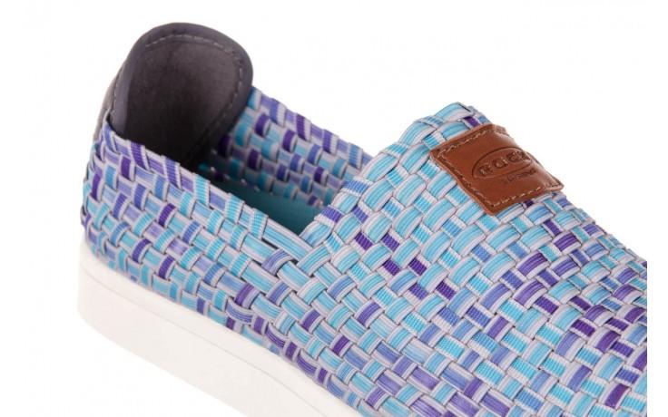 Trampki rock cruiser neptun, niebieski, materiał 5