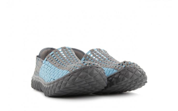 Półbuty rock full breath blue-grey, niebieski/szary, materiał - rock - nasze marki 1