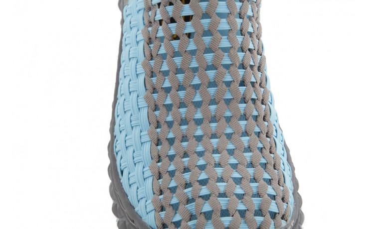 Półbuty rock full breath blue-grey, niebieski/szary, materiał - rock - nasze marki 5