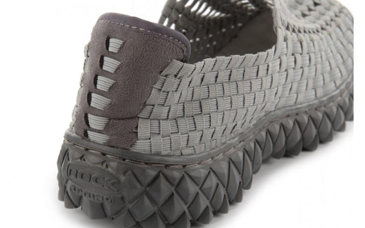 Sandały rock full breath grey, szary, materiał  - rock - nasze marki 7