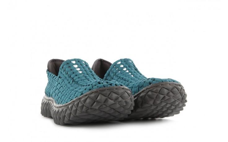 Sandały rock full breath petrol, niebieskie, materiał 1