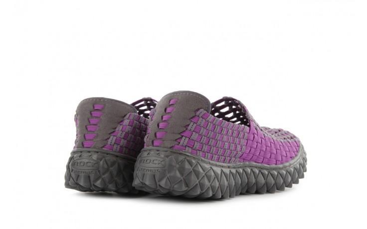 Półbuty rock full breath violet-grey, fiolet/szary, materiał 3