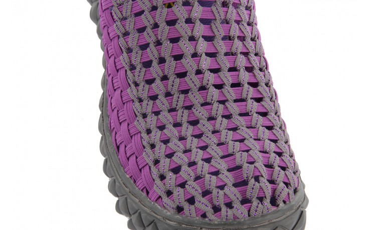 Półbuty rock full breath violet-grey, fiolet/szary, materiał 5