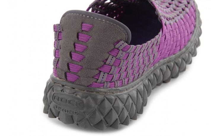 Półbuty rock full breath violet-grey, fiolet/szary, materiał 6