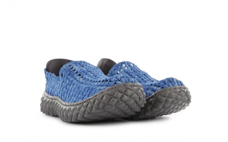 Półbuty rock full breath washed elblue, niebieski, materiał - rock - nasze marki 1