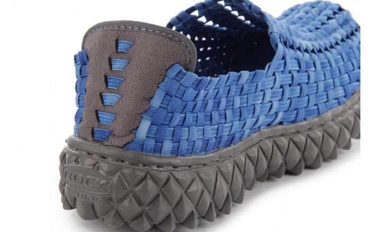Półbuty rock full breath washed elblue, niebieski, materiał - rock - nasze marki 6
