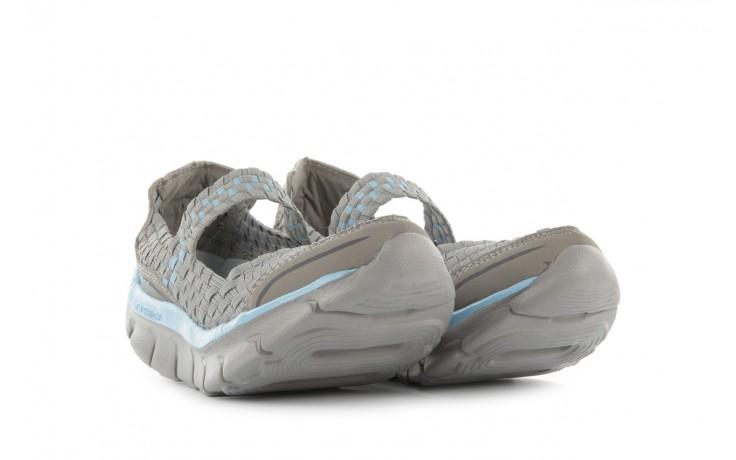 Sandały rock miami over grey-blue, szary/ niebieski, materiał - rock - nasze marki 1