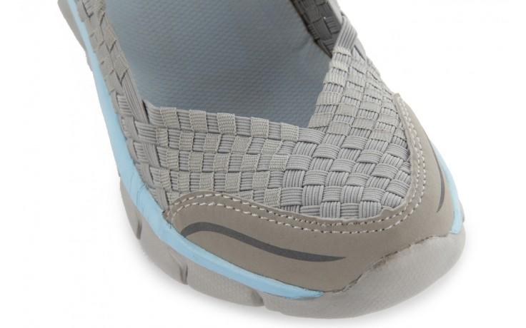 Sandały rock miami over grey-blue, szary/ niebieski, materiał - rock - nasze marki 5