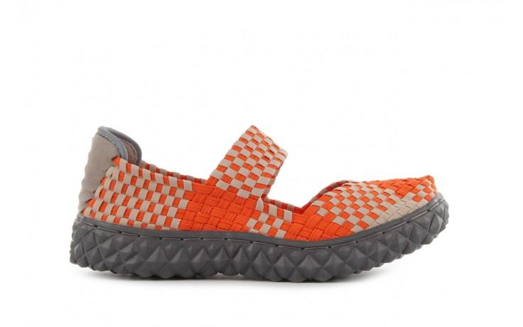 Sandały rock over orange-beige, pomarańcz/ beż - rock - nasze marki