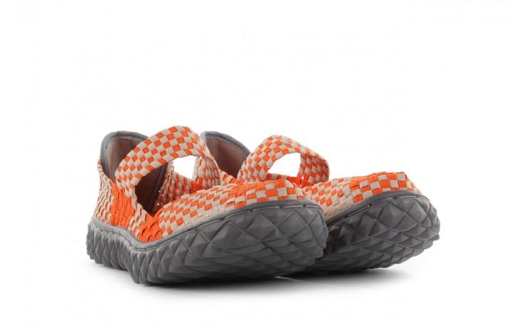 Sandały rock over orange-beige, pomarańcz/ beż - rock - nasze marki 1