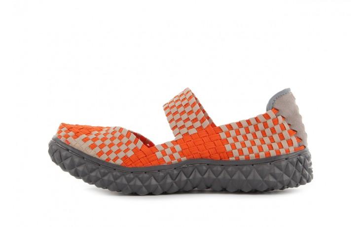 Sandały rock over orange-beige, pomarańcz/ beż - rock - nasze marki 2